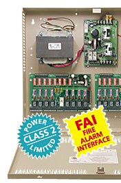 Class 2 Power Limited - Fire Alarm Interface